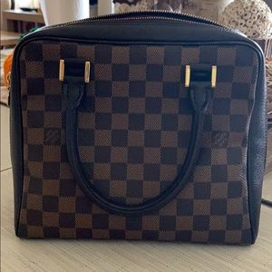 Louis Vuitton Bags - Authentic LV Damier Ebene Brera satchel/crossbody